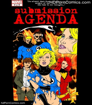 Porn Comics - Submission Agenda 5 – The Invisible Woman Sex Comic