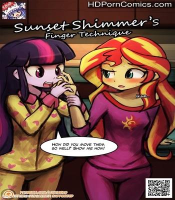 Porn Comics - Sunset Shimmer's Finger Technique Sex Comic