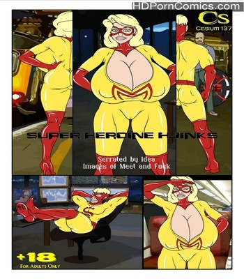 Porn Comics - Super Heroine Hjinks Sex Comic