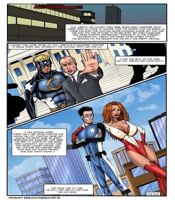 Super Secret 2 Sex Comic