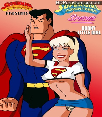 Porn Comics - Supergirl Adventures 1 – Horny Little Girl Sex Comic
