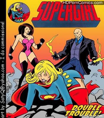 Supergirl Double Trouble comic porn