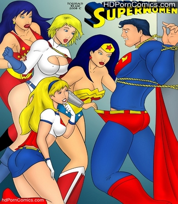Porn Comics - Superwomen Sex Comic