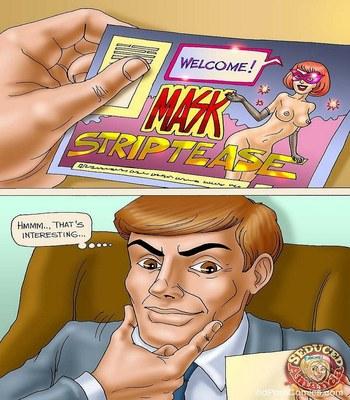 Surprise for Dad in Strip Bar- Seduced Amanda free Cartoon Porn Comic sex 3