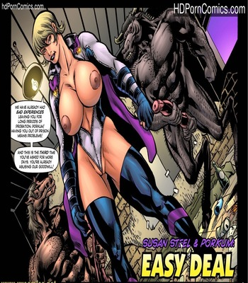 Porn Comics - Susan Steel & Porkum-Easy Deal free Cartoon Porn Comic