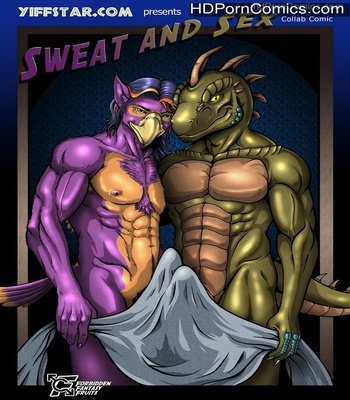 Porn Comics - Sweat And Sex Sex Comic