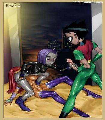 Teen Titans 16 free sex comic