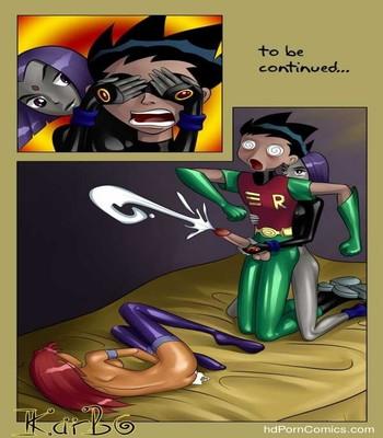 Teen Titans 9 free sex comic