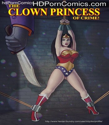 Porn Comics - The Clown Princess of Crime free Cartoon Porn Comic