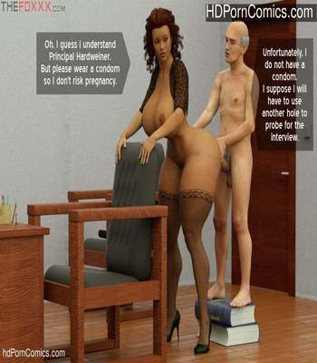 The Foxxx – Azalea's Job Interview free Porn Comic sex 21