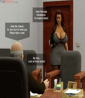 The Foxxx – Azalea's Job Interview free Porn Comic sex 3