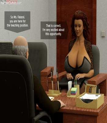 The Foxxx – Azalea's Job Interview free Porn Comic sex 5