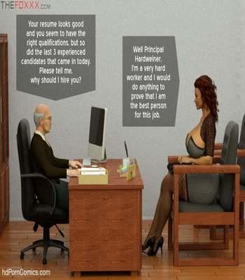 The Foxxx – Azalea's Job Interview6 free sex comic