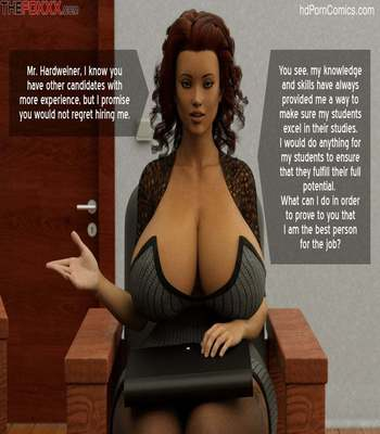 The Foxxx – Azalea's Job Interview8 free sex comic