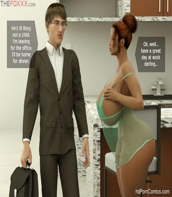 The Foxxx- Nephew's arrival6 free sex comic