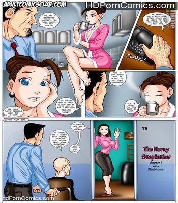 Porn Comics - The Horny Stepfather 1-2 free Porn Comic