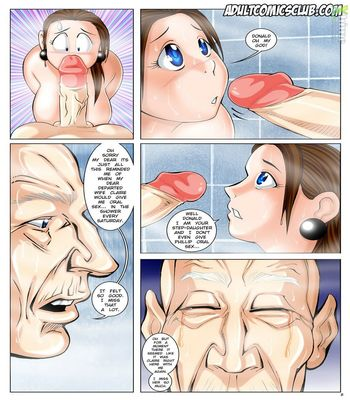 The Horny Stepfather 1-28 free sex comic