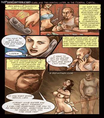 The Hostage 13 free sex comic
