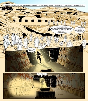 The Mummy3 free sex comic