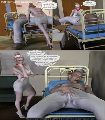 The Patient in Room 3132 free sex comic