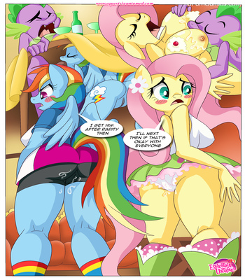 The Power Of Dragon Mating (My Little Pony)23 free sex comic