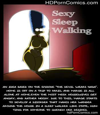 Porn Comics - The Simpsons – Sexy Sleep Walking free Porn Comic