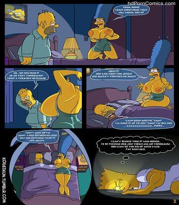 The Simpsons - Sexy Sleep Walking3 free sex comic