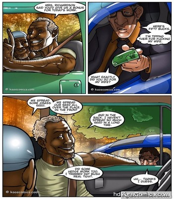 The Wife And The Black Gardeners39 free sex comic