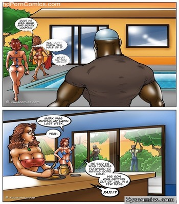 The Wife And The Black Gardeners5 free sex comic