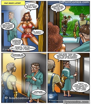 The Wife And The Black Gardeners7 free sex comic