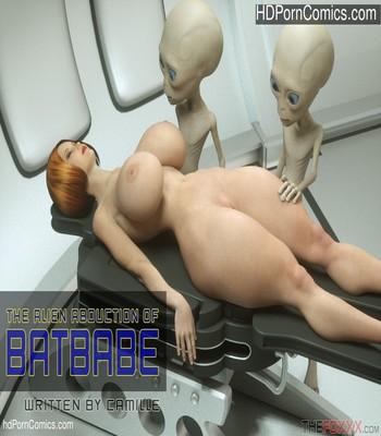 Porn Comics - The Alien Abduction Of Batbabe Sex Comic
