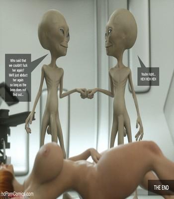 The Alien Abduction Of Batbabe Sex Comic