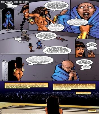 The Amazon Empress Sex Comic