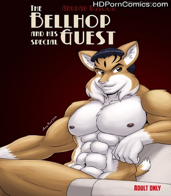 Porn Comics - The Bellhop And His Special Guest Sex Comic