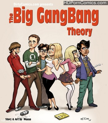 Big bang comic book porn