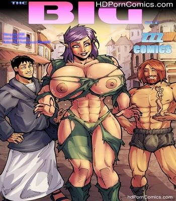 Porn Comics - The Big Elf Sex Comic