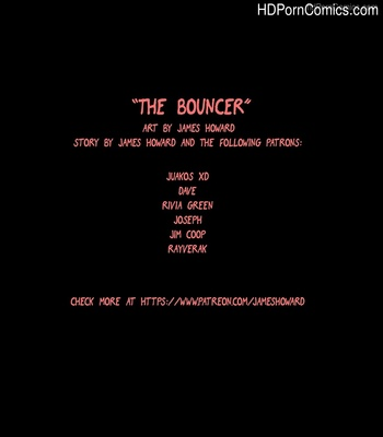 Porn Comics - The Bouncer Sex Comic
