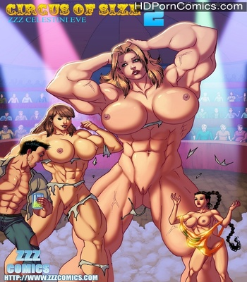 Porn Comics - The Circus Of Size 2 Sex Comic