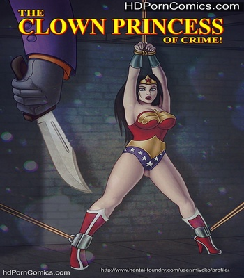 Porn Comics - The Clown Princess Of Crime Sex Comic