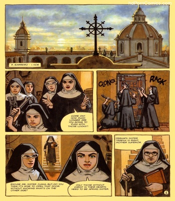 The Convent Of Hell 18 free sex comic