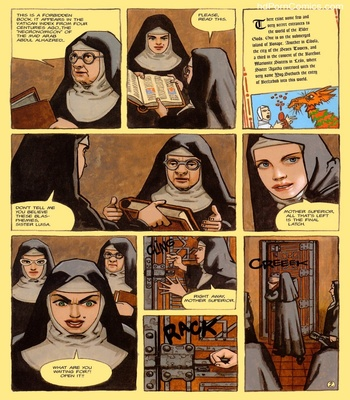 The Convent Of Hell 19 free sex comic