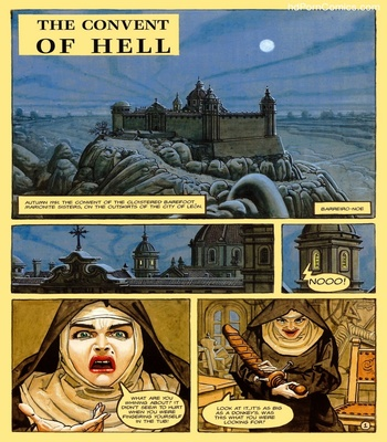 The Convent Of Hell 2 free sex comic