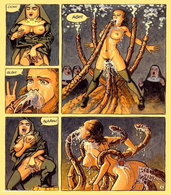 The Convent Of Hell 23 free sex comic