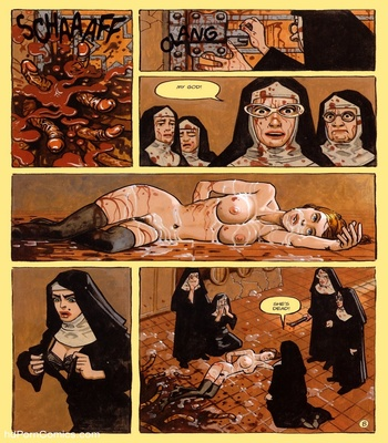 The Convent Of Hell 25 free sex comic