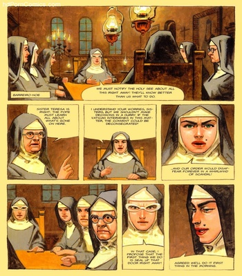 The Convent Of Hell 26 free sex comic