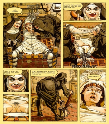 The Convent Of Hell 3 free sex comic