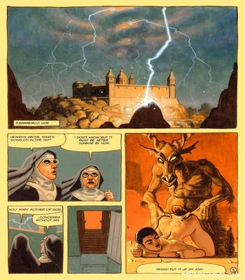 The Convent Of Hell 34 free sex comic