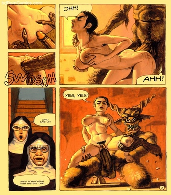 The Convent Of Hell 35 free sex comic