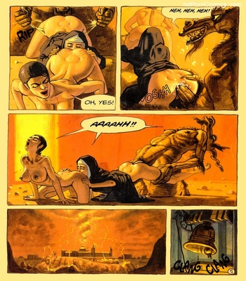 The Convent Of Hell 38 free sex comic