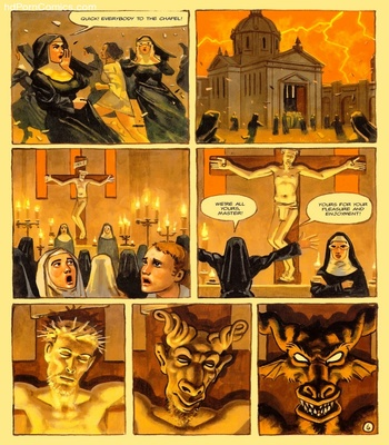 The Convent Of Hell 39 free sex comic